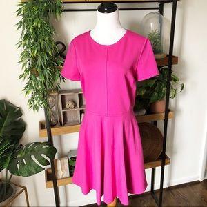 Diane Von Furstenberg pink structured dress